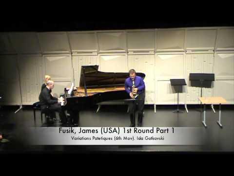 Fusik, James (USA) 1st Round Part 1