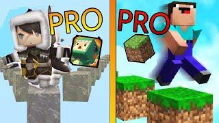 MINI WORLD VS MINECRAFT !! Đâu Mới Là Game Dành Cho Pro Parkour !!!