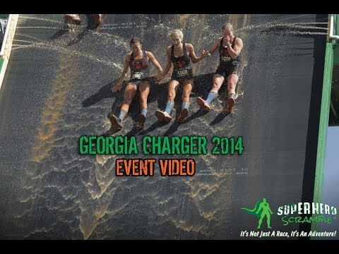 Superhero Scramble - Georgia Charger 2014