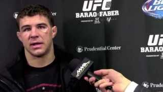 UFC 169: Al Iaquinta Post Fight Interview