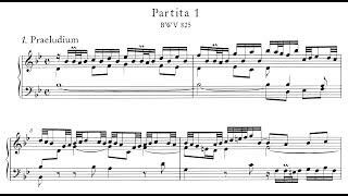 Bach: Keyboard Partita No.1 in B-flat Major, BWV 825 (Blechacz, Anderszewski)