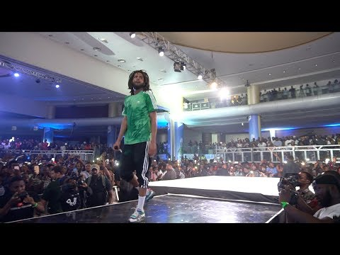 J Cole Live in Lagos Nigeria (FULL PERFORMANCE)