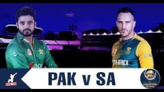 live Pakistan vs south Africa 2nd odi Highlights 2019  pak vs sa Highlights  2019