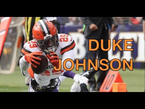 """Duke Johnson │""""Most Underrated Player in the NFL""""│Cleveland Browns 2017 Ultimate Highlights - HD"""