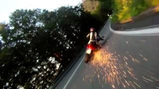 Rouler propre à moto
