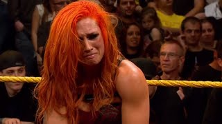 Becky Lynch Reveals Which WWE Match Made Her Cry
