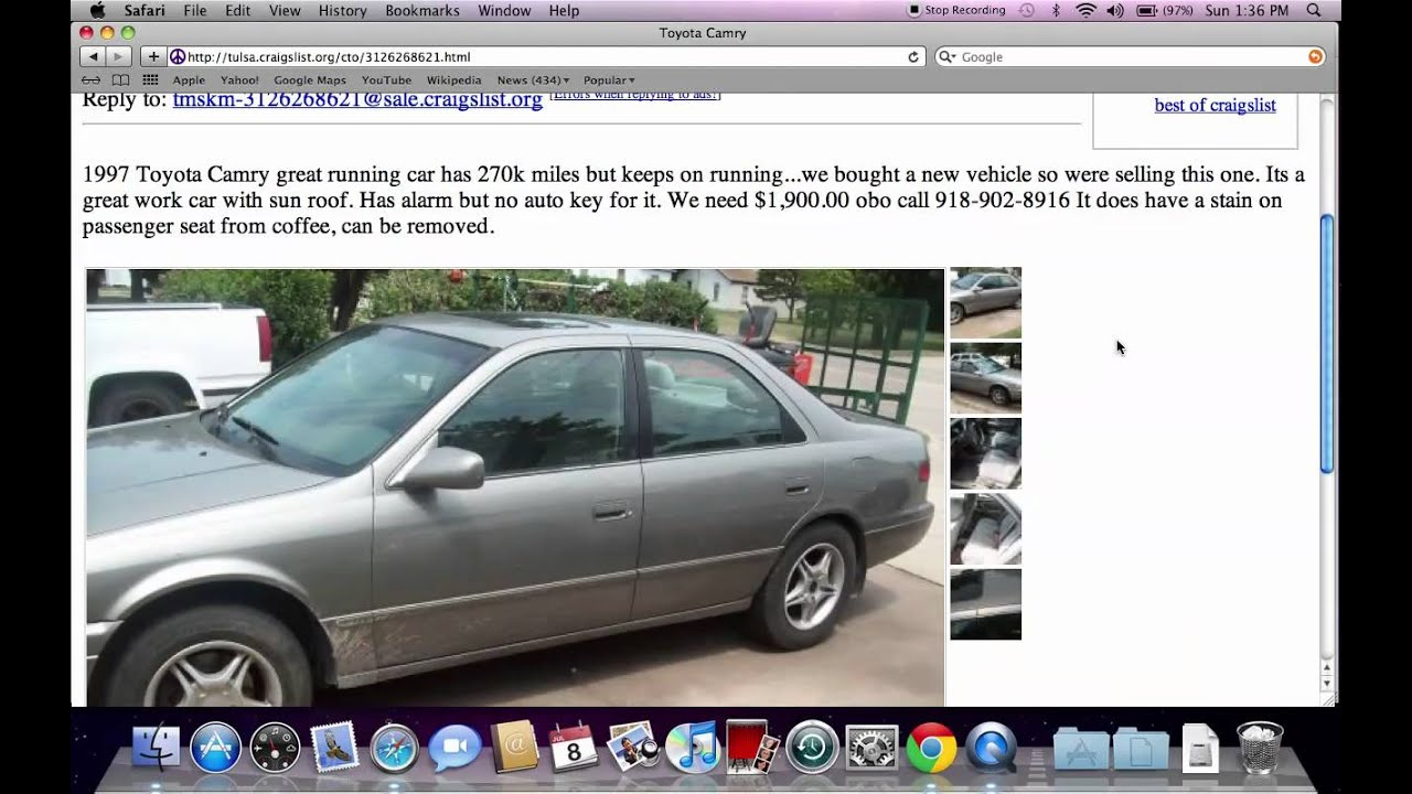 Craigslist Tulsa OK Used Cars And Trucks