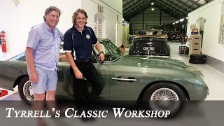 Aston Martin DB4GT - Fixing an icon at the Franschhoek Motor Museum | Tyrrell's Classic Workshop