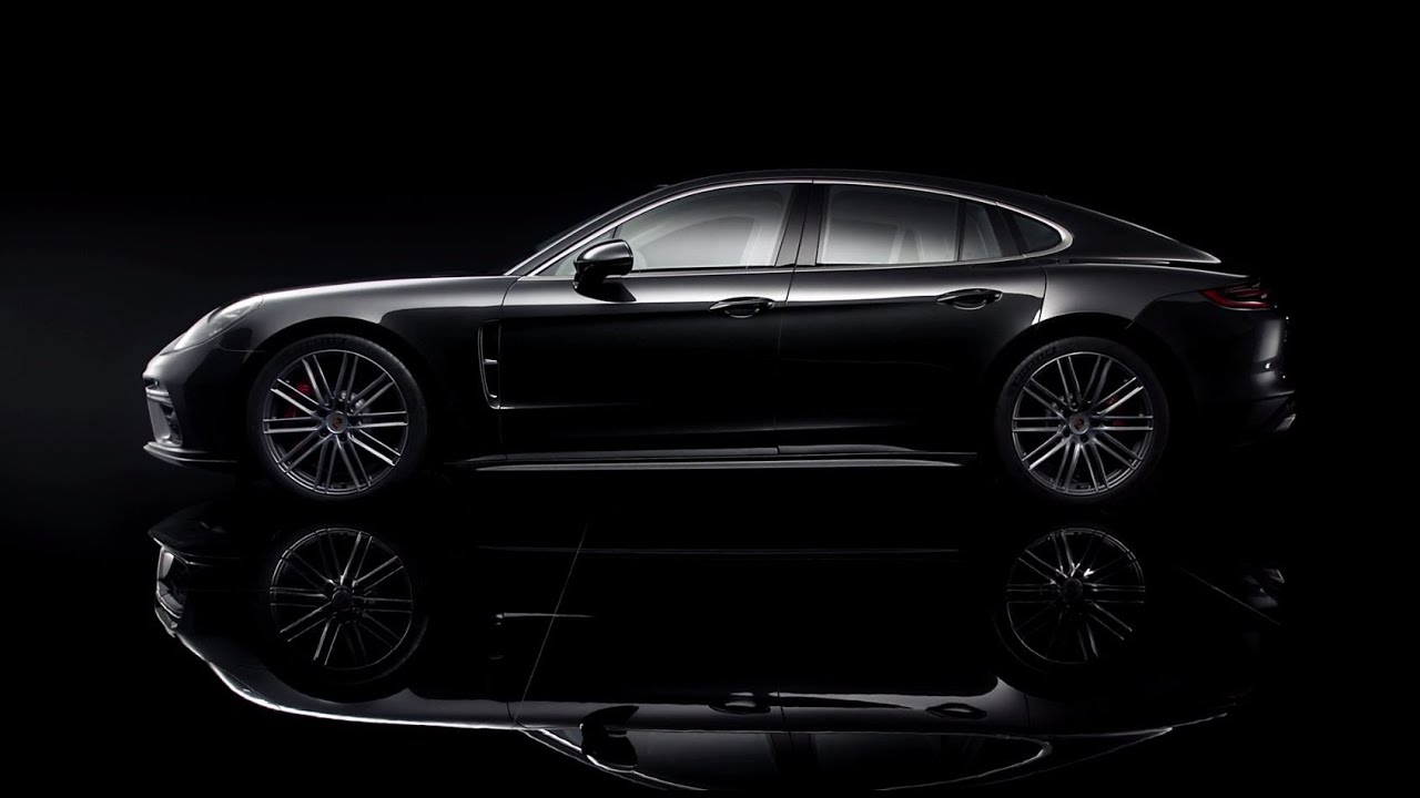 The design of the new Panamera.
