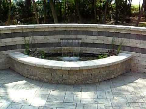Aquatic Innovators, LLC, Janesville, WI - Formal Water Feature Fountain