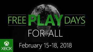 Xbox Live free play days this weekend
