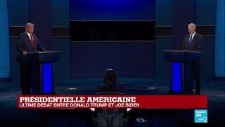 REPLAY - Donald Trump vs Joe Biden : Dernier débat avant la présidentielle américaine