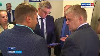 В Омске с официальным визитом находится заместитель министра здравоохранения России Сергей Краевой