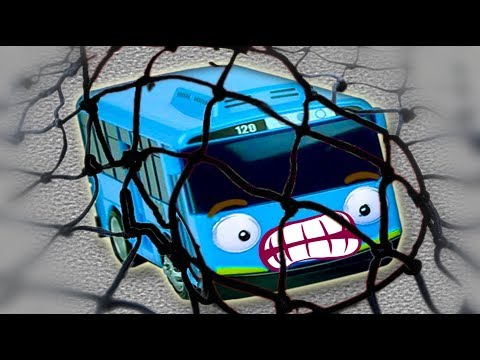 Tayo The Little Bus & Disney Cars 3   Tayo Is In The Fishing Net   Toys For Kids