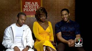 Dear White People Season 2 discuss 'This Is America' and being 'Gay-cast'