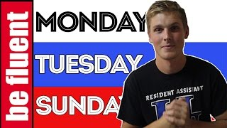 Do You Know Weekdays and Months? | Russian Language