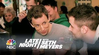 Seth Gets Drunk on St. Patrick's Day - Late Night with Seth Meyers