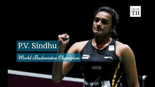 PV Sindhu's journey to victory..