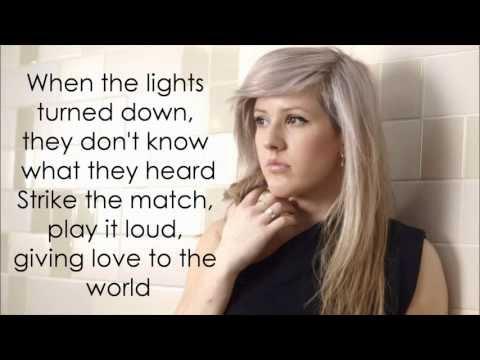 Burn - Ellie Goulding (Lyrics) HD