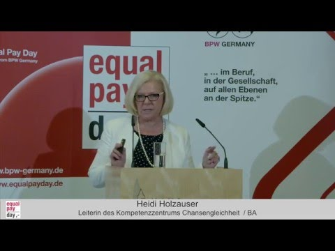 Heidi Holzhauser | Equal Pay Day Forum am 10.11.2015 in Frankfurt am Main