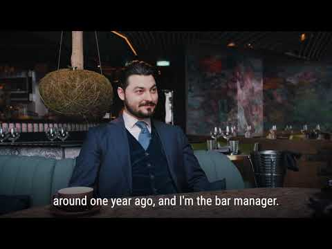 Discover the Team Part.1 II with Massimo Petovello our Bar Manager