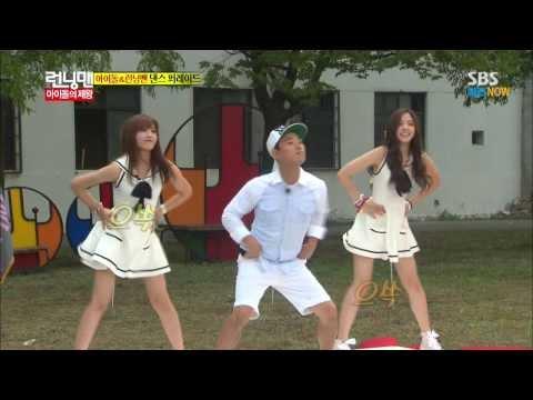 SBS [런닝맨] - 아이돌의 제왕 A pink(은지,나은) Cut