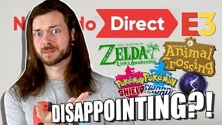 Honestly, Nintendo's E3 might DISAPPOINT YOU but it shouldn't.
