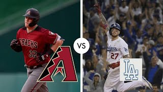 Los Angeles Dodgers VS Arizona Diamondbacks| Game Highlights| July 3