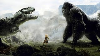 King Kong vs T-Rex Fight Scene - King Kong (2005) Movie CLIP [1080p 60 FPS HD]