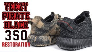 Yeezy 350 Pirate Black Restoration