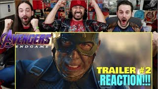 AVENGERS: ENDGAME - Official TRAILER #2 - REACTION!!!