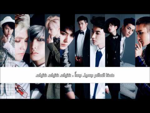 Super Junior - Too Many Beautiful Girls {Arabic Sub}