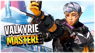 becoming the Valkyrie MASTER!! (Apex Legends Season 9)