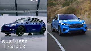 How Tesla's Model Y Compares To Ford's New EV