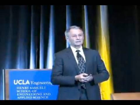 Leonard Kleinrock, 40th Anniversary of the Internet conference, UCLA