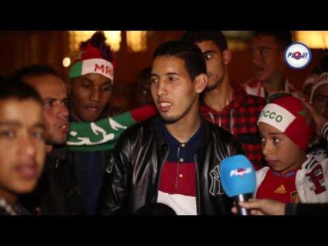 غضب المراكشيين بعد نهاية مباراة المغرب وتونس
