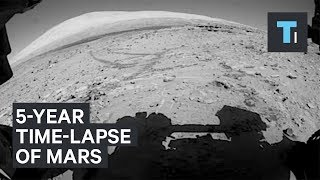 NASA Curiosity Rovers 5-Year Time-Lapse