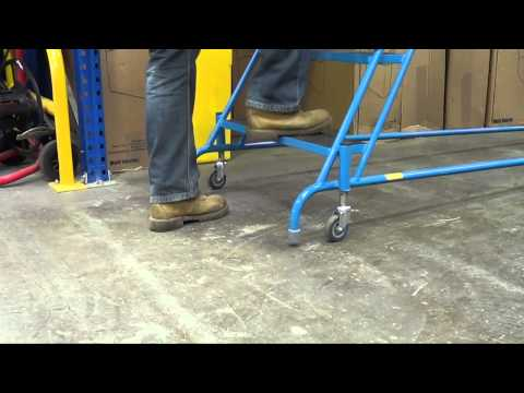 GS Approved Fort Spring Warehouse Steps
