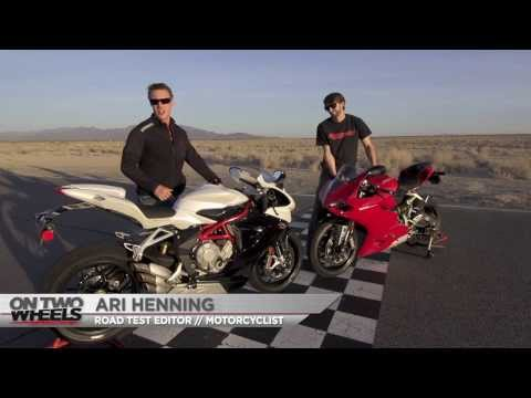 On Two Wheels - Short Shift! 2014 Ducati 899 Panigale vs. MV Agusta F3 800