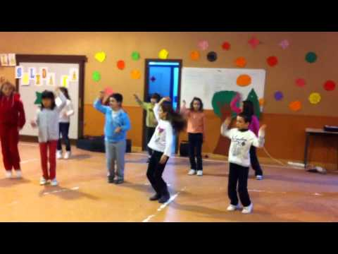 3ºA Bailando al ritmo de Tadeo Jones