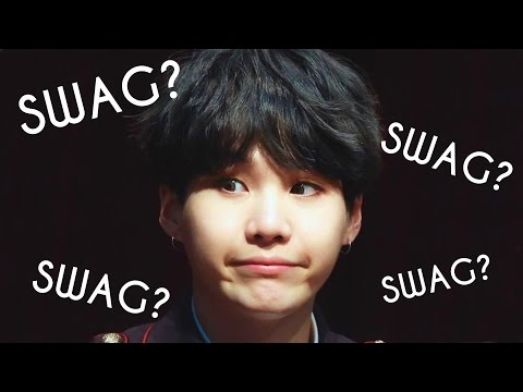 When SUGA Forgot His SWAG! Part.2 #HappySugaDay