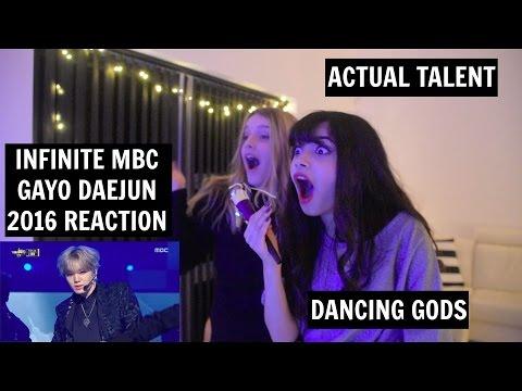 [2016 MBC 가요대제전의] INFINITE BTD + THE EYE REACTION   [THEY LOOKS LIKE GODS]