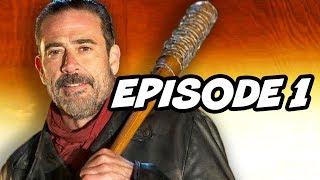 Walking Dead Season 7 Episode 1 - Negan TOP 10 WTF and Easter Eggs