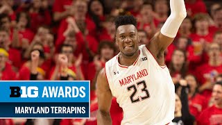 Highlights: First-Teamer Fernando Leads All-Big Ten Terps | Maryland | 2018-2019 B1G Basketball
