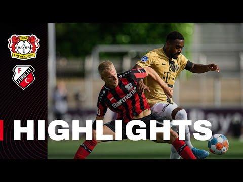 HIGHLIGHTS   Bayer 04 Leverkusen - FC Utrecht