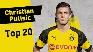 Glory Moments! | Christian Pulisic's Top 20 Career Highlights