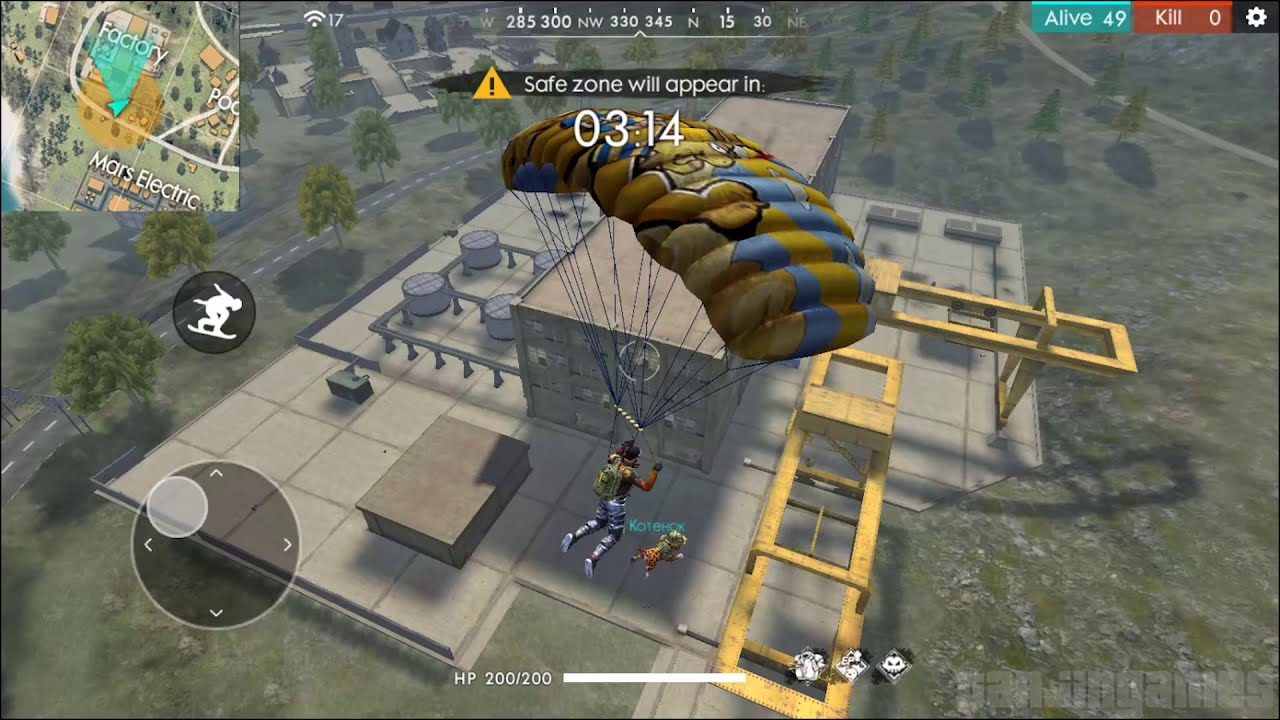 Free Fire Battlegrounds Gameplay Part 112 Ranked Game