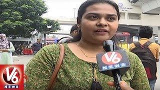 Public rejoice over Hyd. metro rail opening on LBnagar rou..