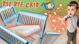 SHAWN BREAKS HIS CRIB with MAGIC!!!  Crazy Wibbit Powers w/ FGTEEV Surprise!  FV Family New Bed Vlog