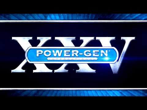 The world's largest power generation event, POWER-GEN International, November 12-14 in Orlando, FL.